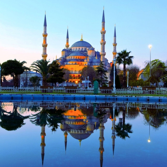 Gorgeous Blue Mosque in Istanbul, turkey - Source: qataracademy.wikispaces.net