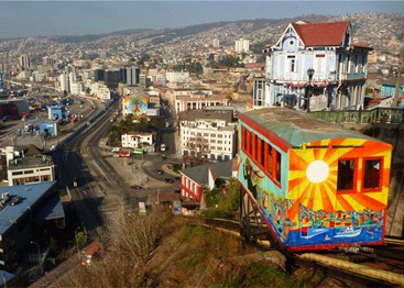 Valparaiso, Chile - Source: spanishdict.com