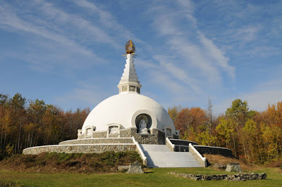 Grafton, NY, USA Peace Pagoda - Source: Robert-marchessault.blogspot.com