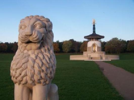 Milton Keynes, UK Peace Pagoda - Source: tripadvisor.co.uk