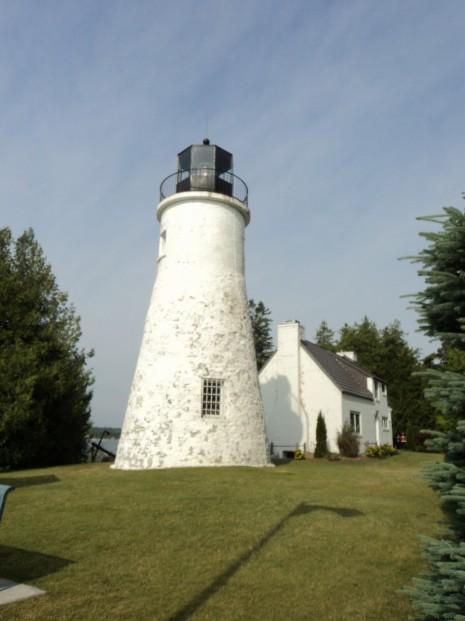 Old Presque Isle Lighthouse (1845) - Presque Isle, Michigan