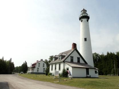 New Presque Island Lighthouse (1870) - Presque Isle, Michigan