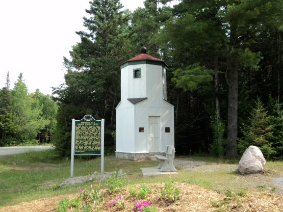 Presque Isle Rear Range Light - Presque Isle, Michigan