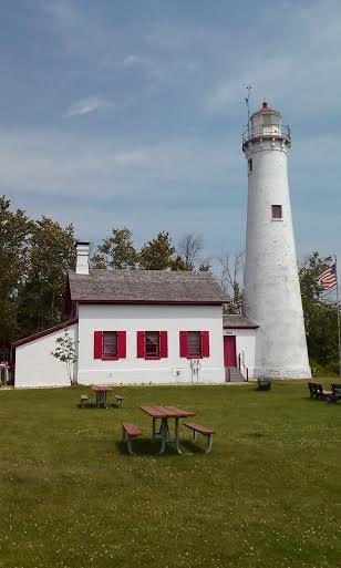 Sturgeon Point Lighthouse (1869) - Harrisville, Michigan