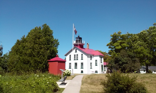 Grand Traverse Lighthouse near Northport, Michigan