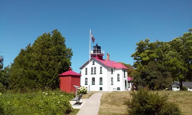 Grand Traverse Lighthouse near Northport, Michigan