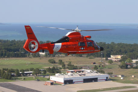 U.S. Coast Guard Air Station - Traverse City - Source uscg.mil