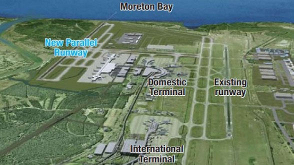 Brisbane Airport - Source: sunshinecoastdaily.com.au