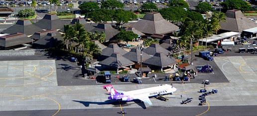 Kona Airport, Hawaii - Source: gohawaii.com