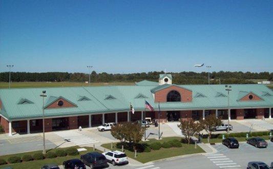 Coastal Carolina Regional Airport- New Bern, North Carolina - Source: newbernnow.com