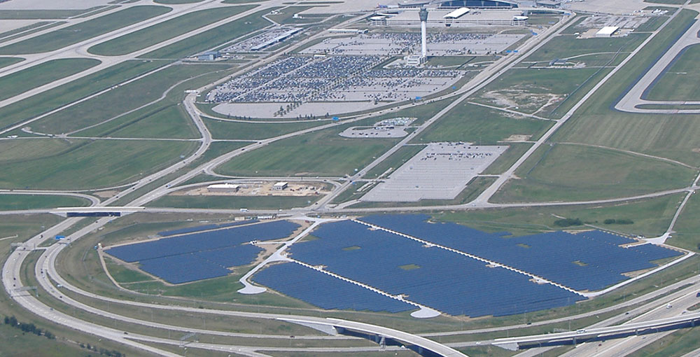 The World S Largest Airport Solar Farm Is Where Panethos