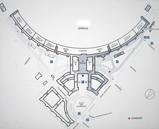 Eagle shape of Templehof's footprint - Source: skibbereeneagle.ie