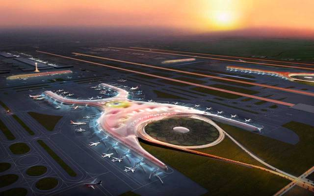 Winning design for new Mexico City airport - Source: fosterandpartners.com