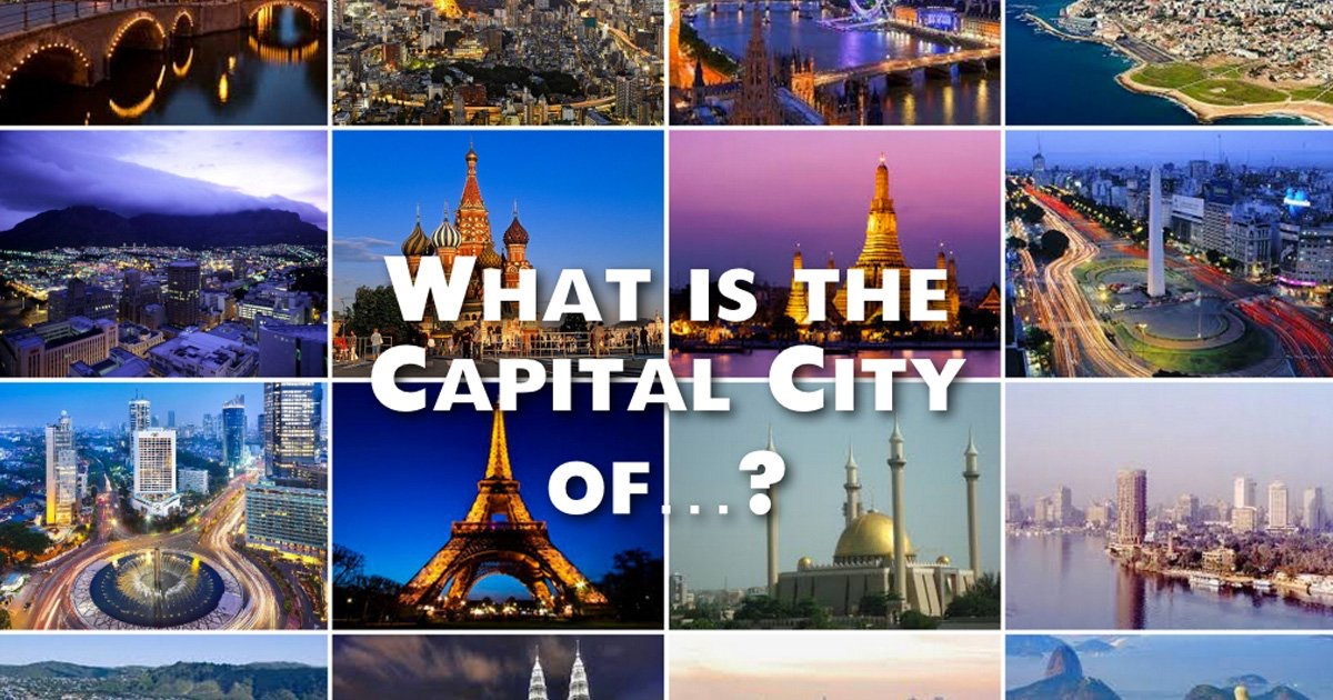 One Syllable Capital Cities Panethos - All the countries and their capitals in the world